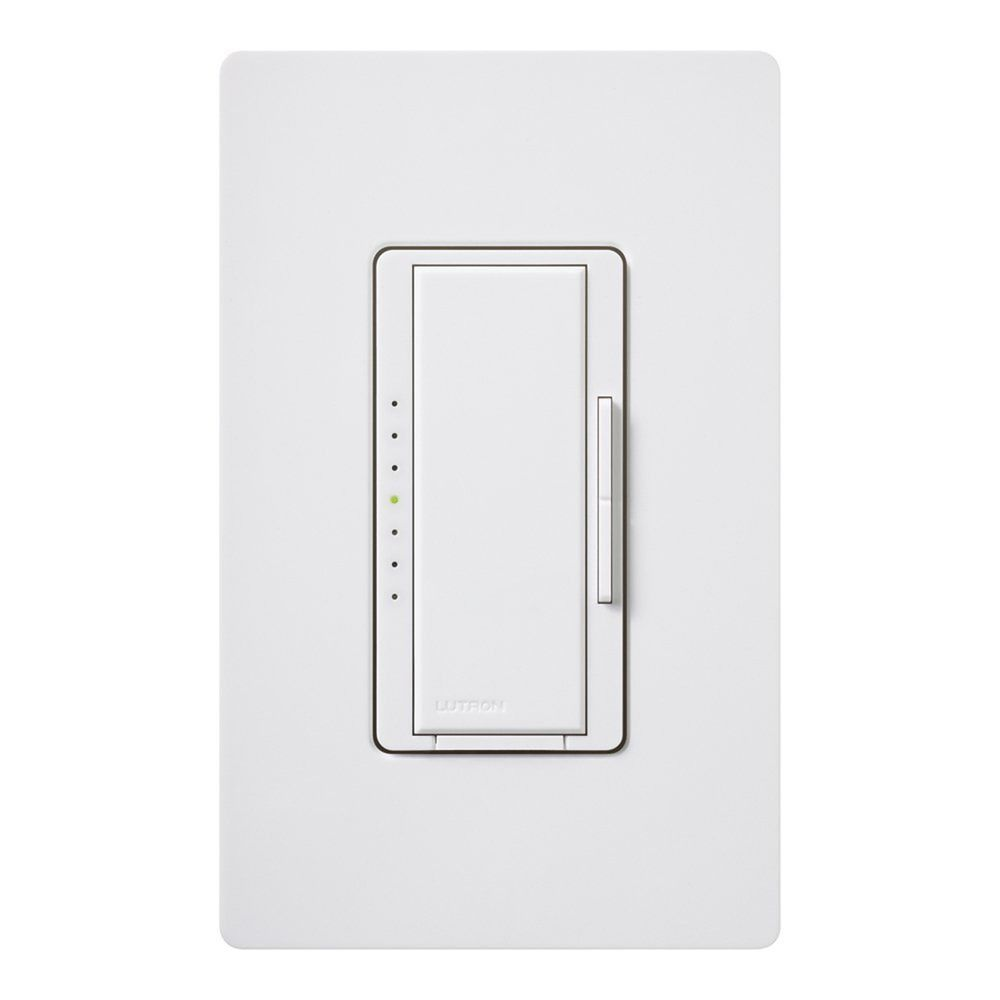 Lutron White Decora Dimmer Switch Macl 153m Wh