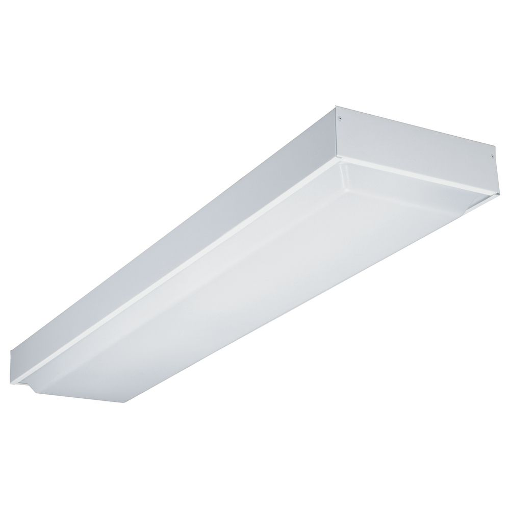Fluorescent Light Fixture Covers Replacement: 48-Inch Fluorescent Ceiling Light