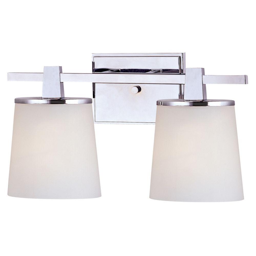 Two-Light Bathroom Vanity Light 3782-26 Destination Lighting