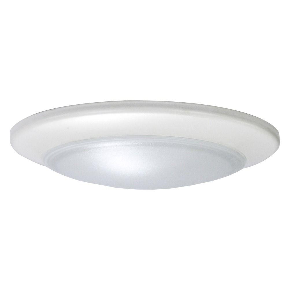 Led Low Profile White Flush Mount Ceiling Light 2700k