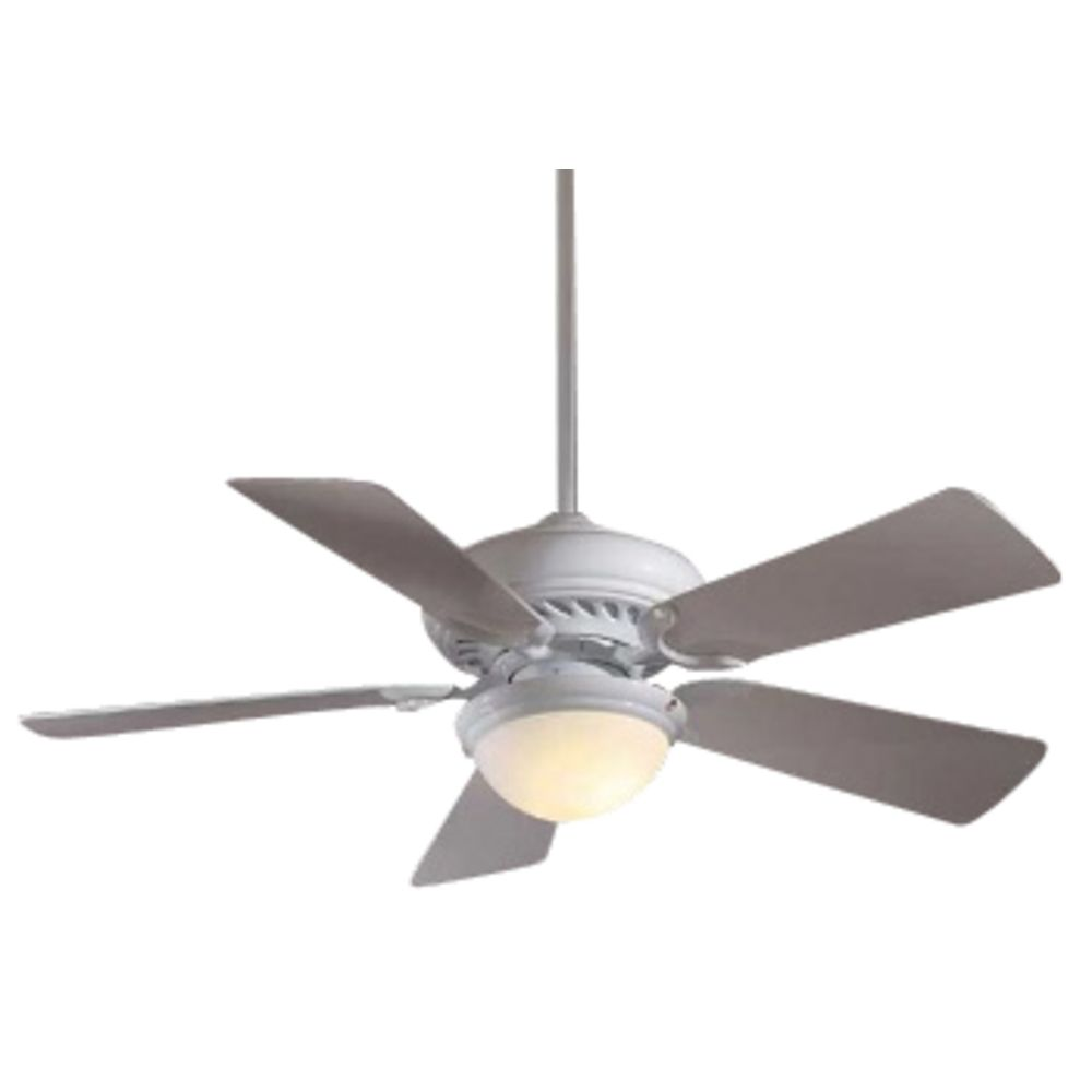 44 Inch Supra Ceiling Fan With Five Blades And Light Kit
