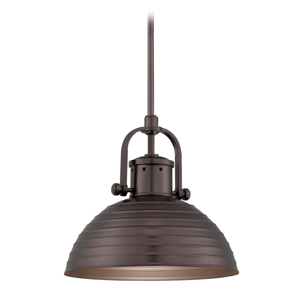 Pendant Light In Harvard Court Bronze Finish