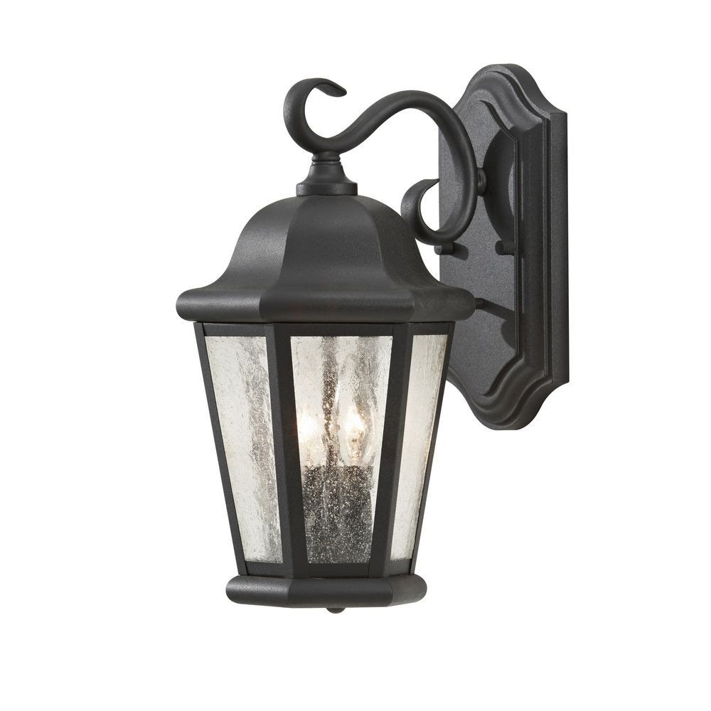 Outdoor Wall Light with Clear Glass in Black Finish OL5901BK Destination Lighting