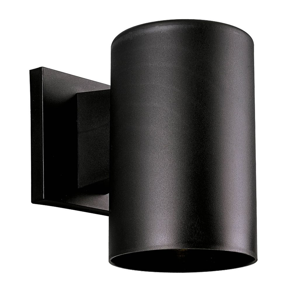 Progress Lighting Outdoor Wall Sconce Progress lighting cylinder black outdoor wall light accessory progress lighting progress lighting cylinder black outdoor wall light accessory p5712 31 hover or click to zoom workwithnaturefo