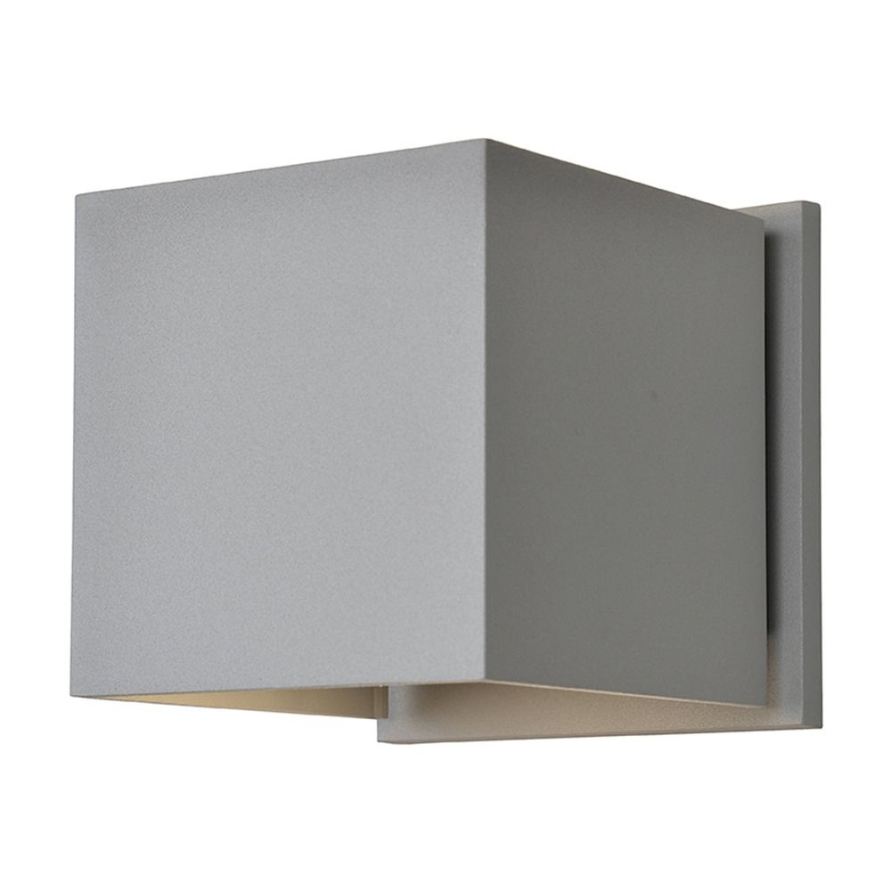 All Square Wall Lights : Access Lighting Square White LED Outdoor Wall Light 20399LEDMG-WH Destination Lighting