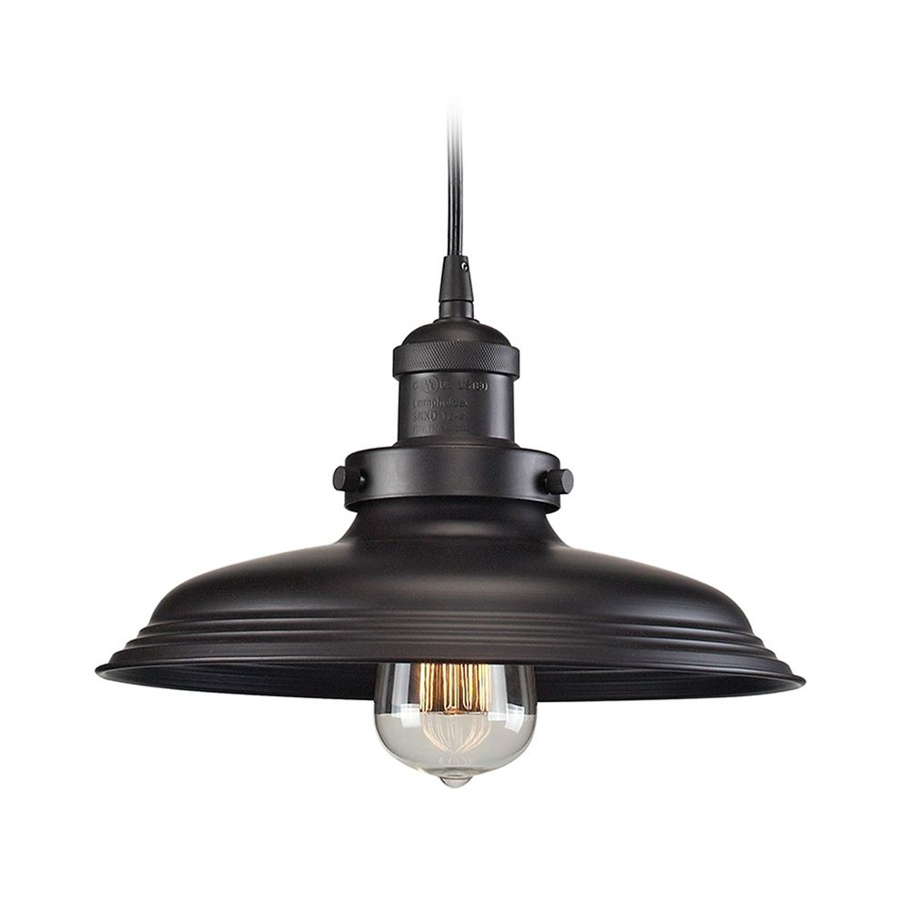 Pendant Light In Oil Rubbed Bronze Finish