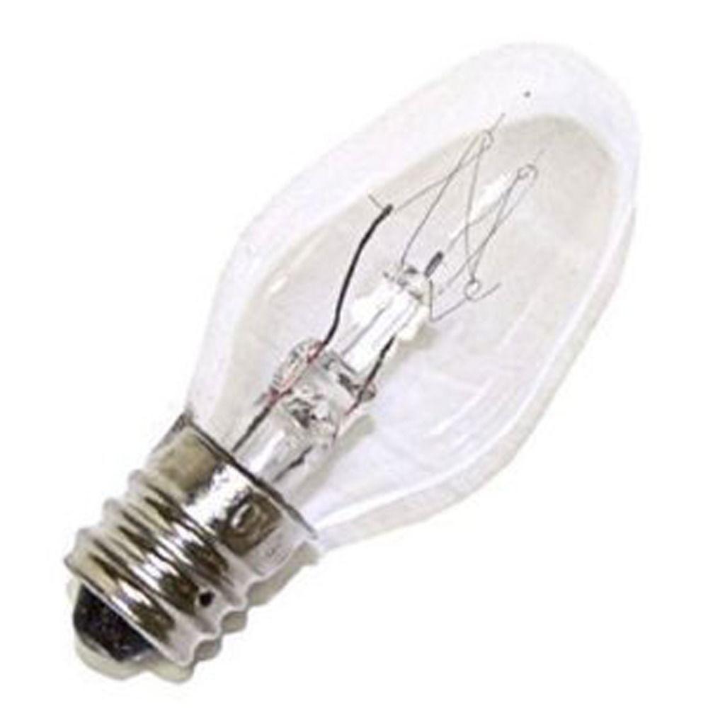 kichler 15 watt c7 light bulb with candelabra base. Black Bedroom Furniture Sets. Home Design Ideas