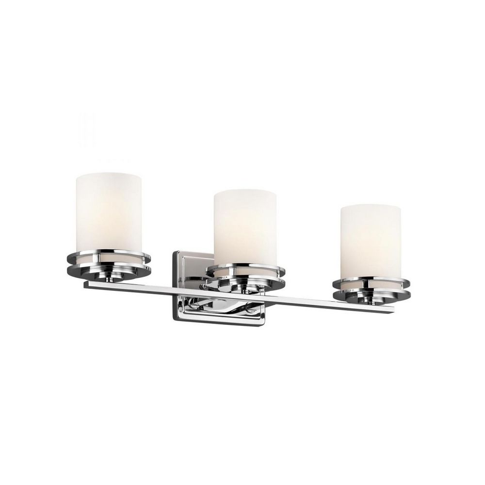 Darcy Glass And Chrome Coffee Table: Kichler Hendrik Chrome Bathroom Light