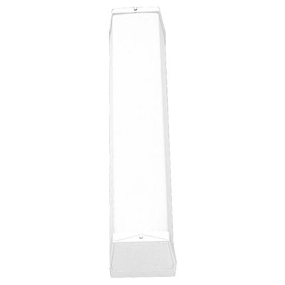 Linear fluorescent bath white bathroom light vertical or horizontal mounting p7129 30eb - Bathroom fluorescent light covers ...