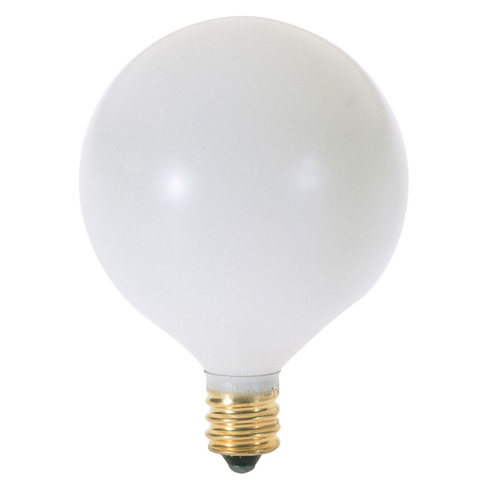 60 Watt Globe Light Bulb With Candelabra Base A3932 Destination Lighting