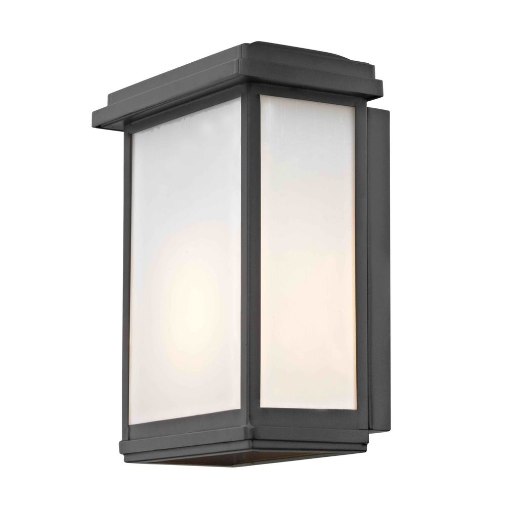 Modern Outdoor Wall Sconce Black At Destination Lighting