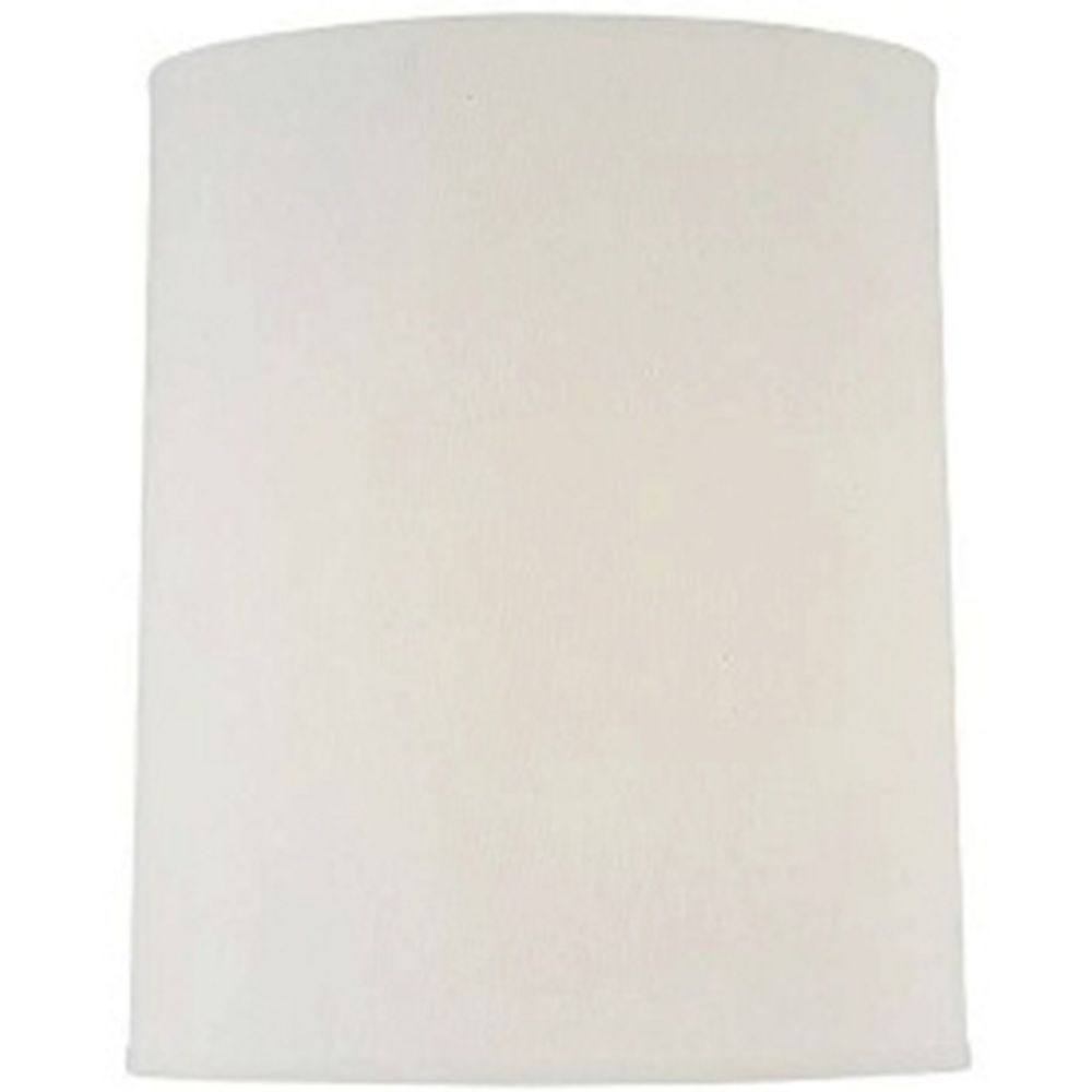 Off white cylindrical lamp shade with spider assembly ch1186 15 hover or click to zoom aloadofball Choice Image