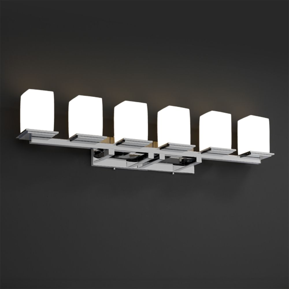 Justice Design Group Limoges Collection Bathroom Light Por 8686 15 Wfal Crom Destination