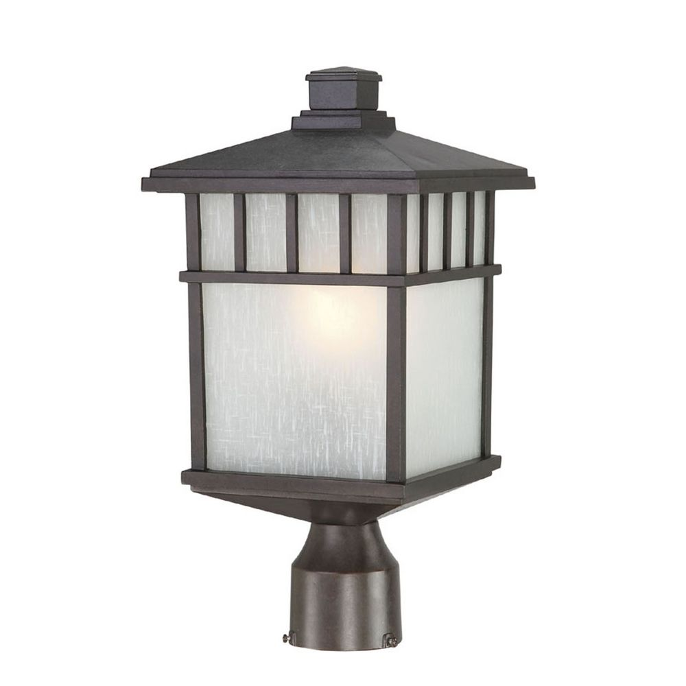 Outdoor Post Light Bulbs: 16-1/2-Inch Mission Outdoor Post Light