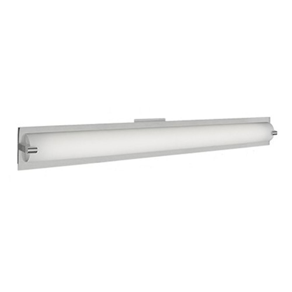 Brushed Nickel LED Bathroom Light By Kuzco Lighting BNLED - Brushed nickel led bathroom light