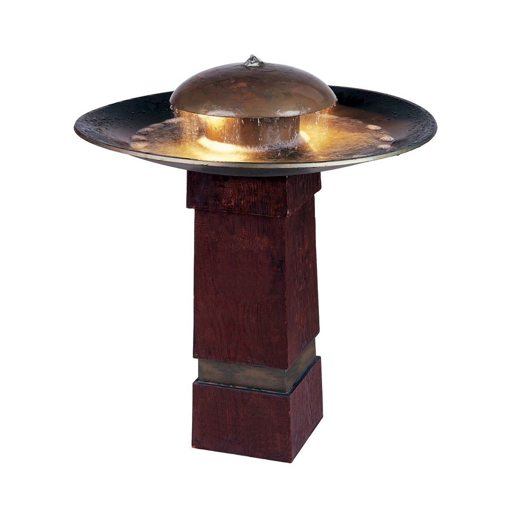 LED Outdoor Fountain In Copper Finish 50720COP Destination Lighting