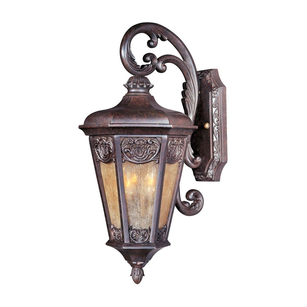 Maxim lighting lexington vx colonial umber outdoor wall for Outdoor colonial lighting