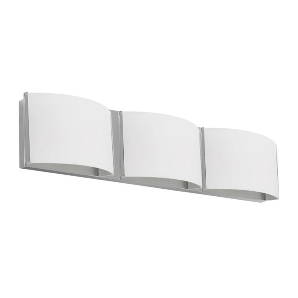 Brushed Nickel LED Bathroom Light By Kuzco Lighting