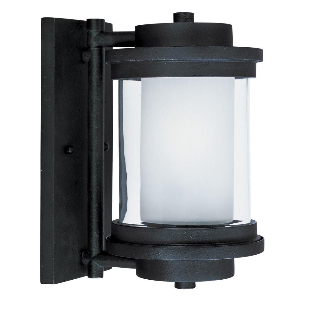 Maxim Lighting Lighthouse Anthracite Outdoor Wall Light 5862CLFTAR Destination Lighting