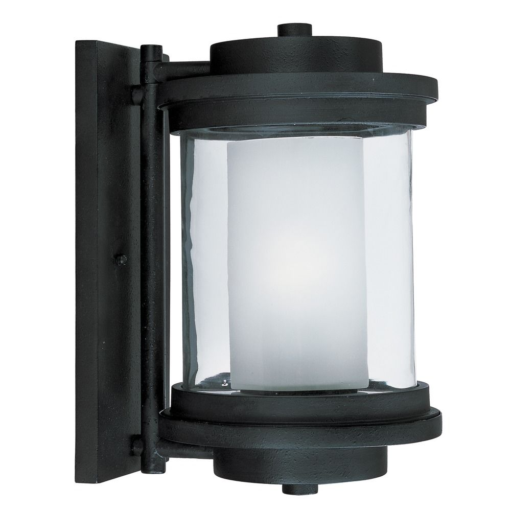 Maxim Lighting Lighthouse Anthracite Outdoor Wall Light 5864CLFTAR Destination Lighting