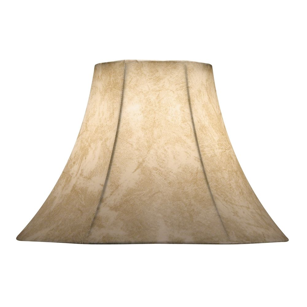 design classics lighting faux leather bell lamp shade with spider. Black Bedroom Furniture Sets. Home Design Ideas