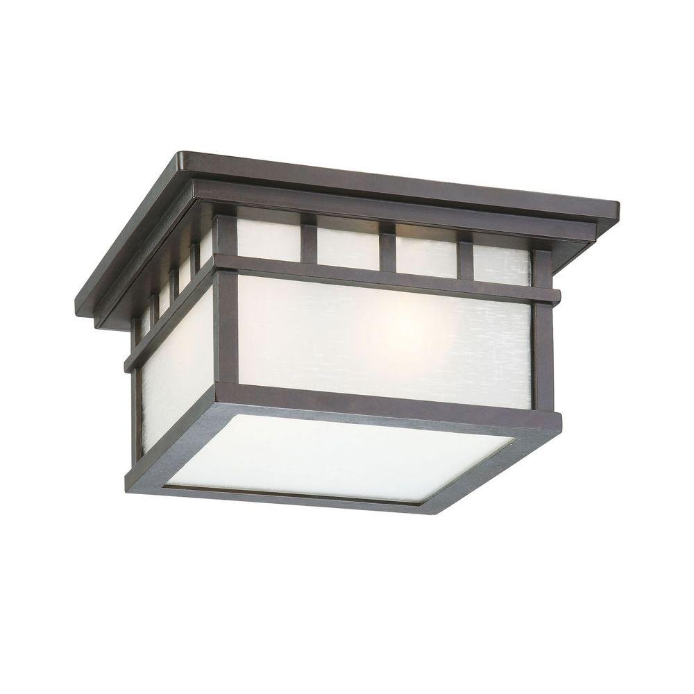 Outdoor flushmount ceiling light 9119 34 destination for Outdoor ceiling lights for porch