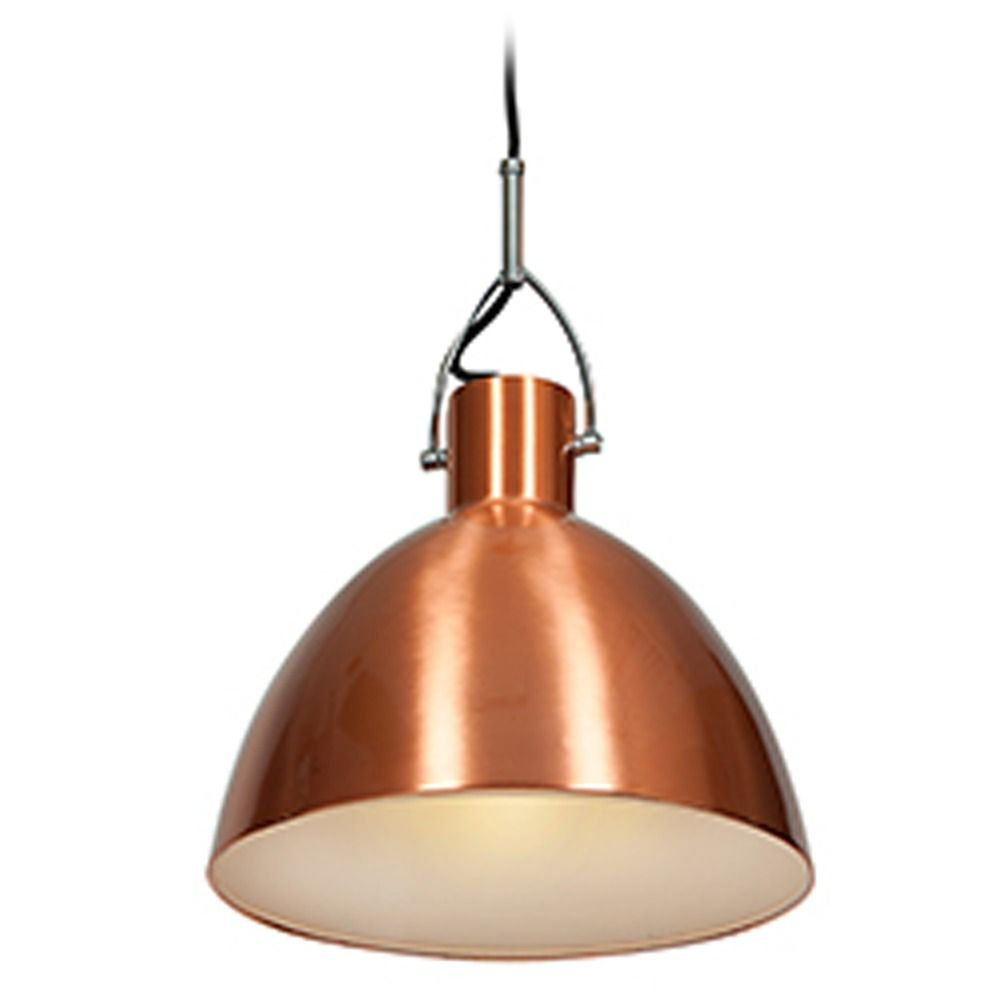 Access Lighting Essence Brushed Copper Pendant Light With