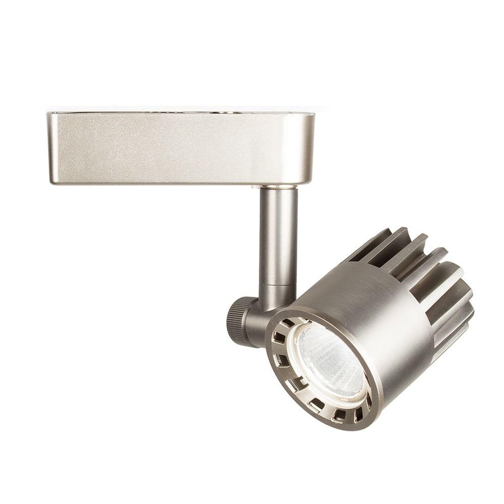 Wac Lighting H Track: WAC Lighting Brushed Nickel LED Track Light H-Track 2700K