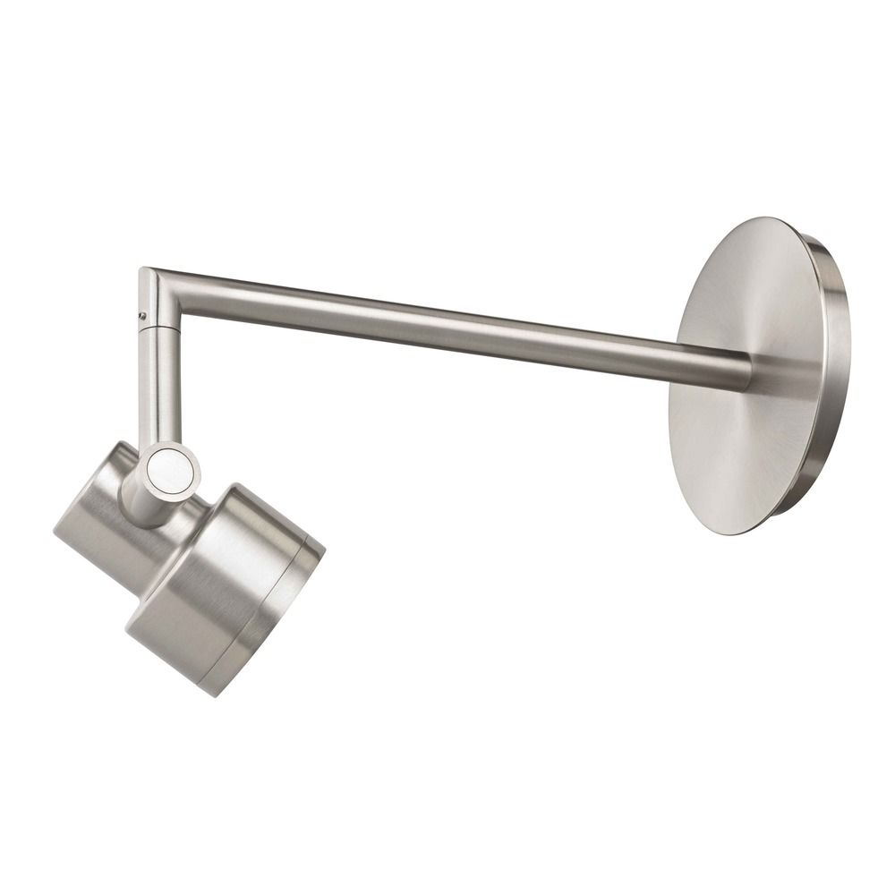 Wall mounted menu spot light satin nickel finish tr0211 sn recesso lighting by dolan designs wall mounted menu spot light satin nickel finish tr0211 aloadofball Image collections