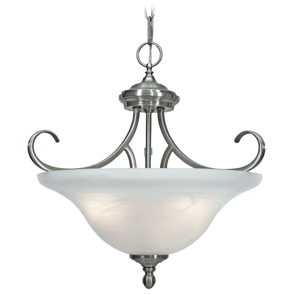 Golden Lighting Lancaster Pewter Pendant Light 6005 SF PW Destination Lig