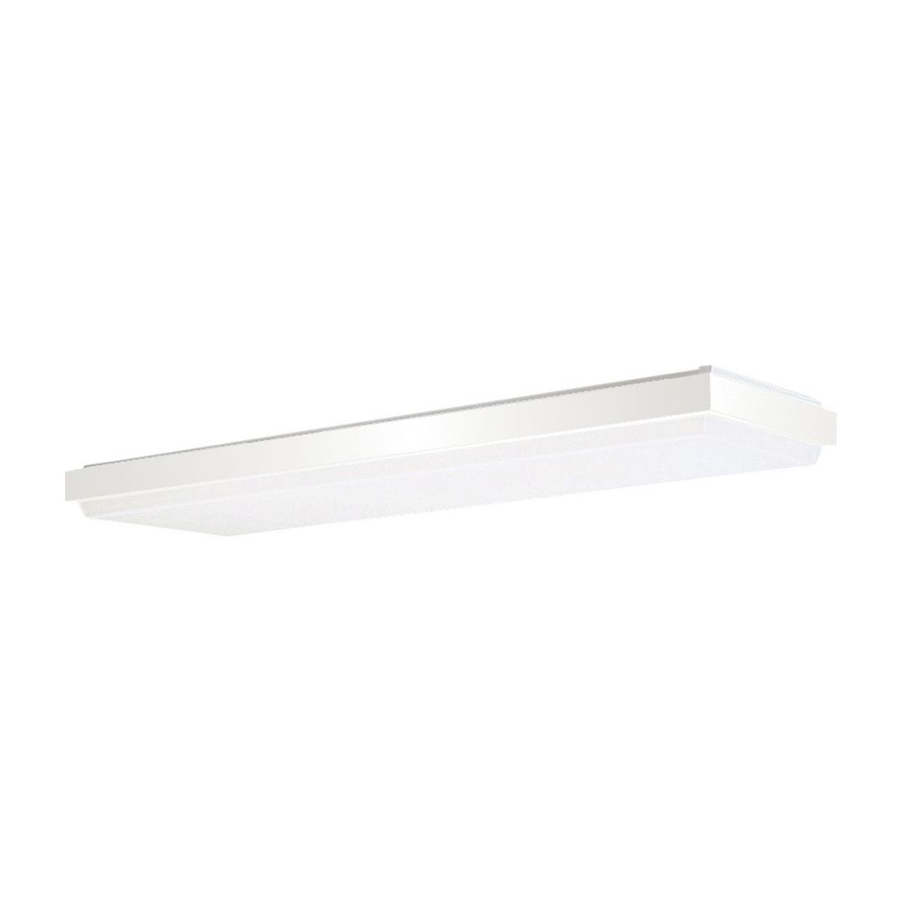 49 modern fluorescent ceiling light with white acrylic