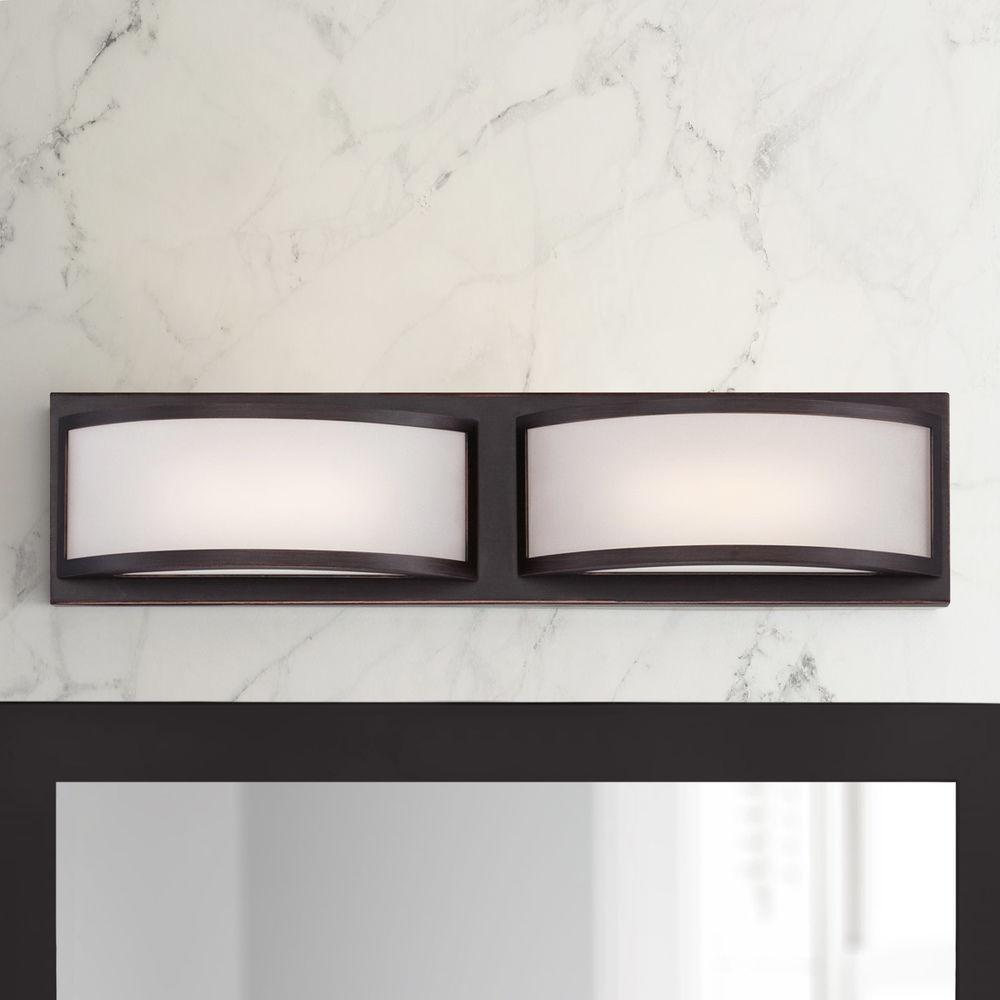 Modern Led Bathroom Light With White, Modern Led Bathroom Lighting