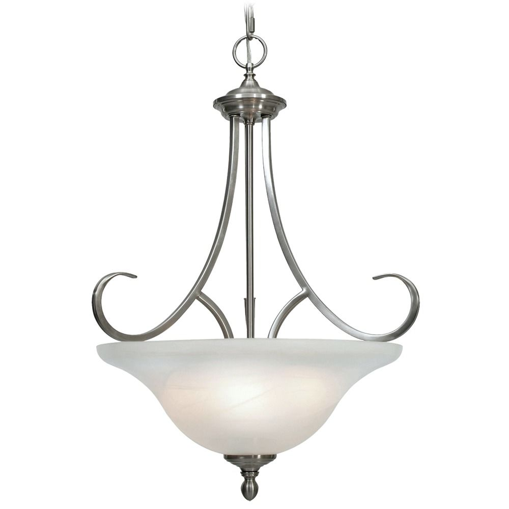 Golden Lighting Lancaster Pewter Pendant Light 6005 3P PW Destination Lig
