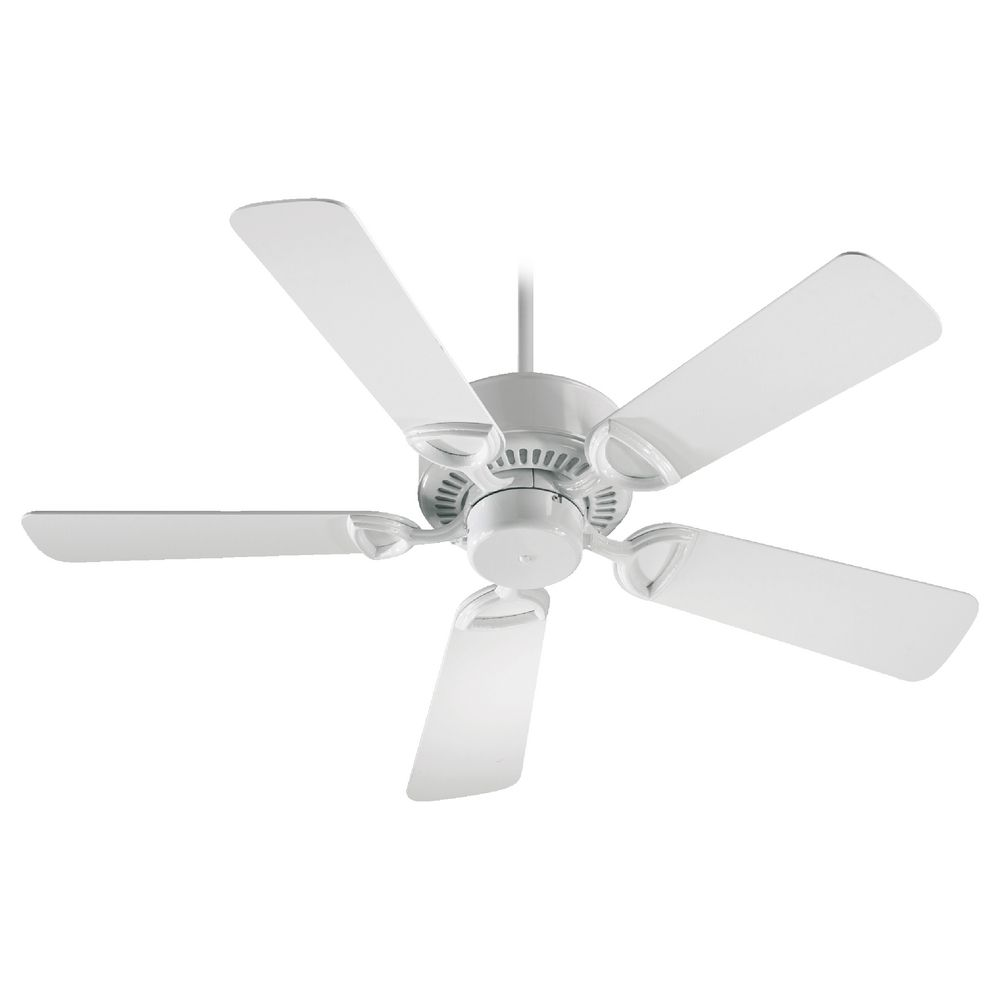 Quorum Lighting Estate White Ceiling Fan Without Light