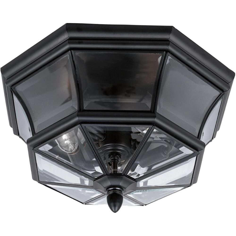 Close To Ceiling Modern Lights : Modern close to ceiling light with clear glass in mystic