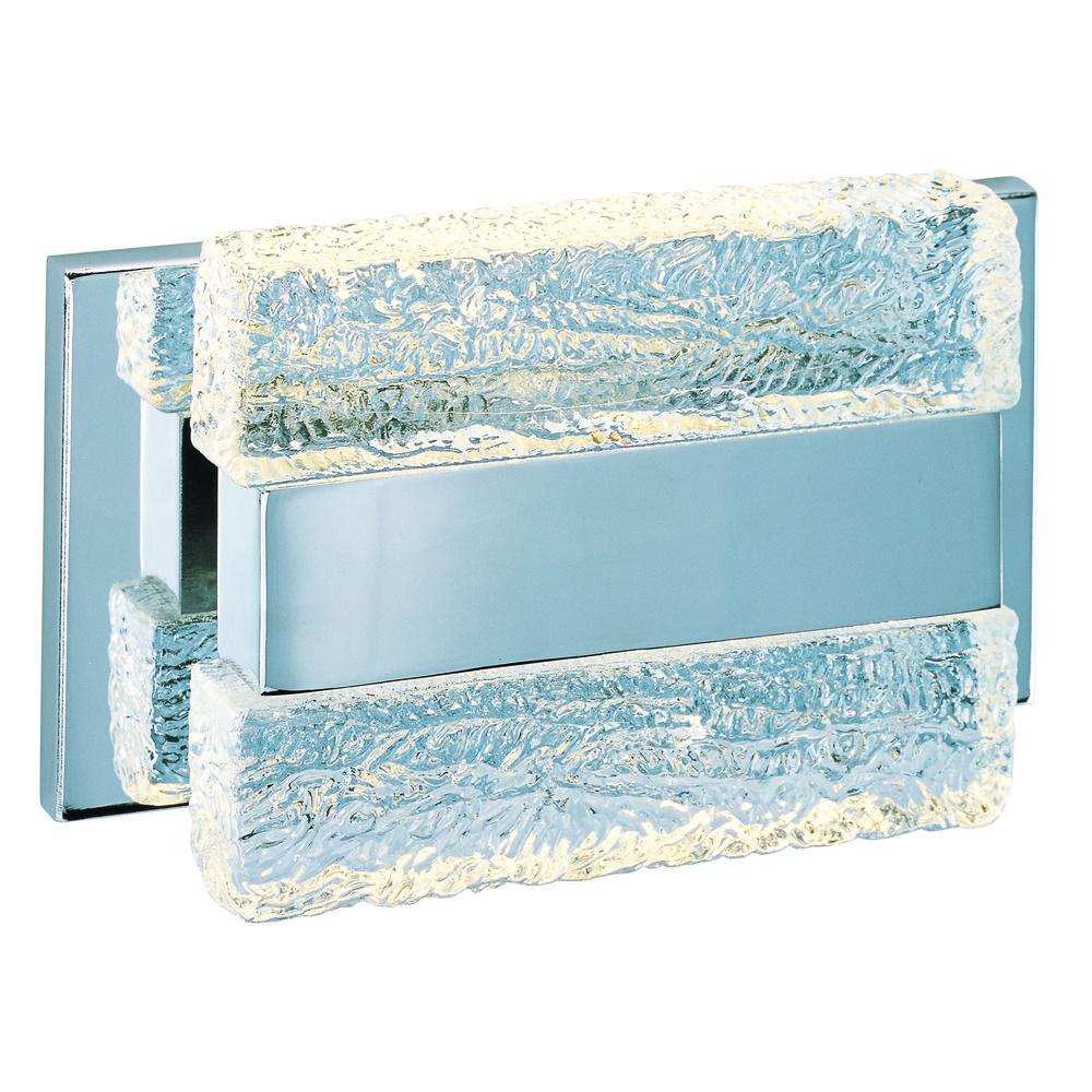 Maxim Lighting Ice Polished Chrome LED Bathroom Light   39621IBPC ...