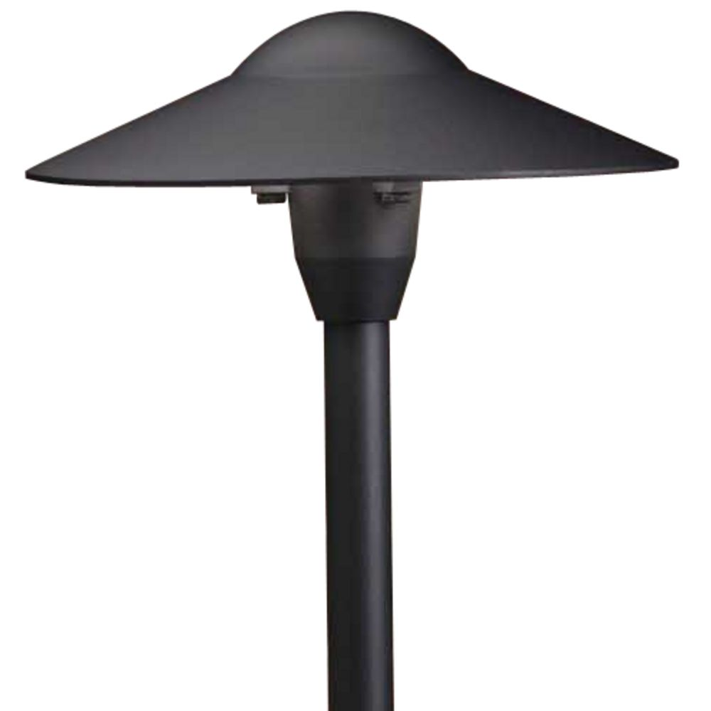 Kichler low voltage path light 15310bkt destination for Low voltage walkway lighting sets