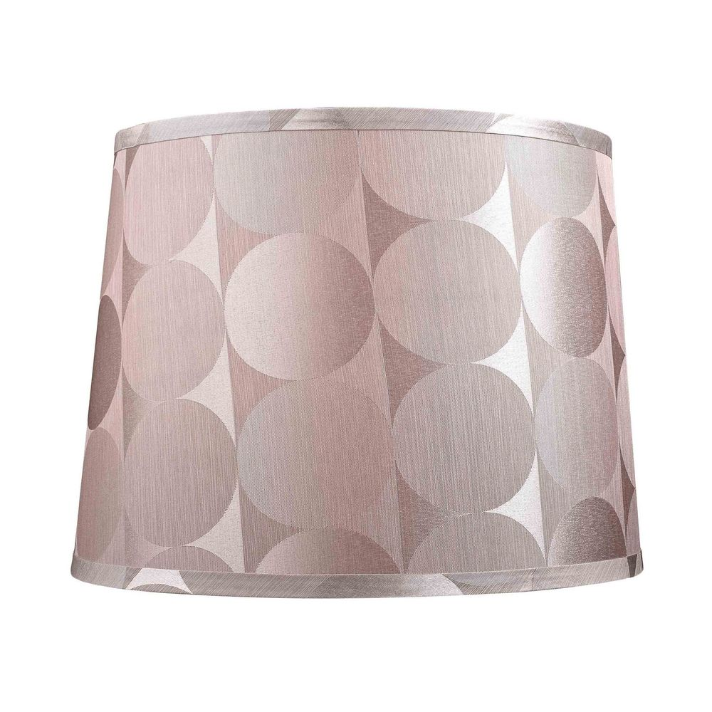 dolan designs lighting large drum lamp shade with silver circular. Black Bedroom Furniture Sets. Home Design Ideas