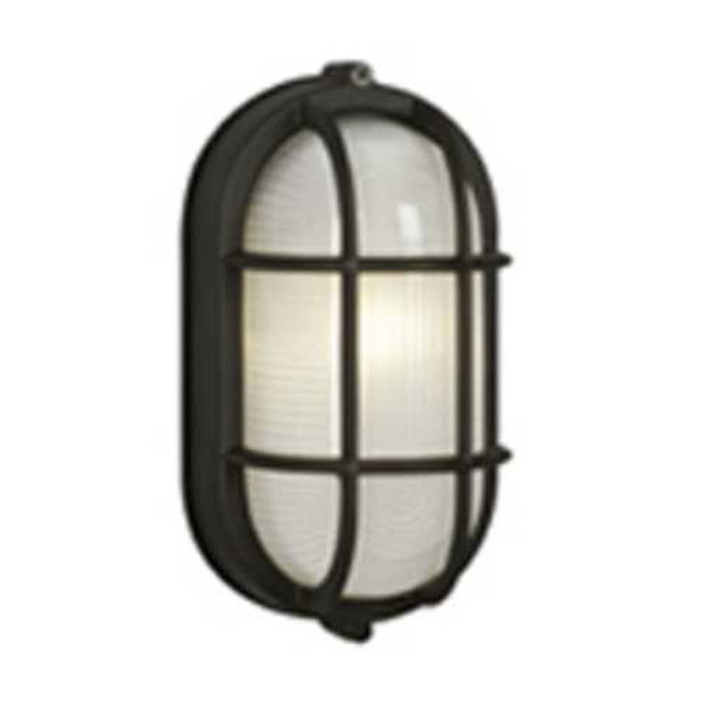 Marine Oval Bulkhead Outdoor Wall Light 305014bk