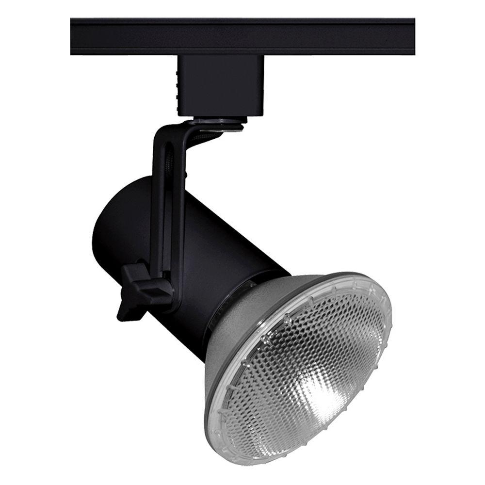 juno lighting group juno lighting group black track light head t691bl. Black Bedroom Furniture Sets. Home Design Ideas