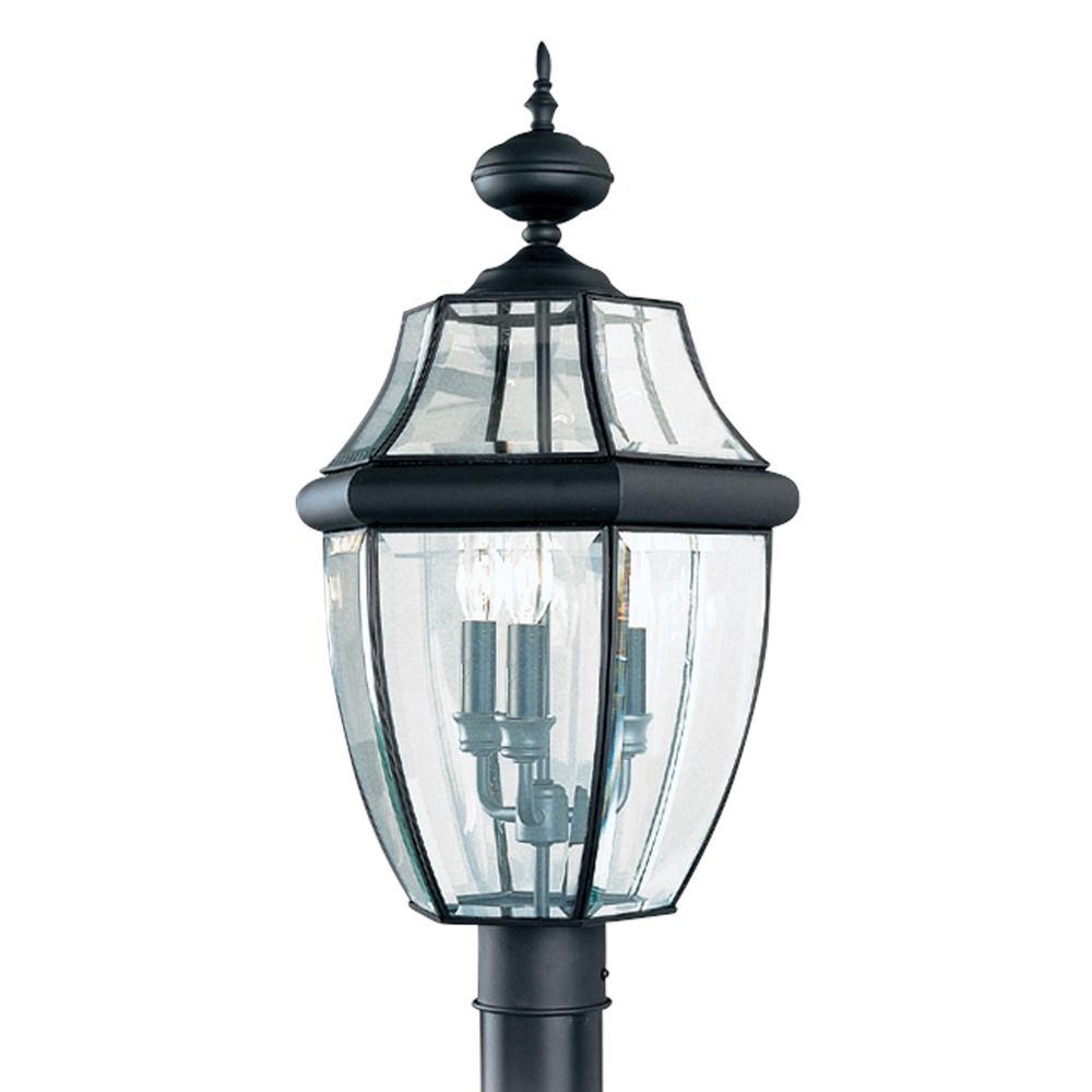 Sea Gull Lighting Products: Sea Gull Lighting Lancaster Black LED Post Light