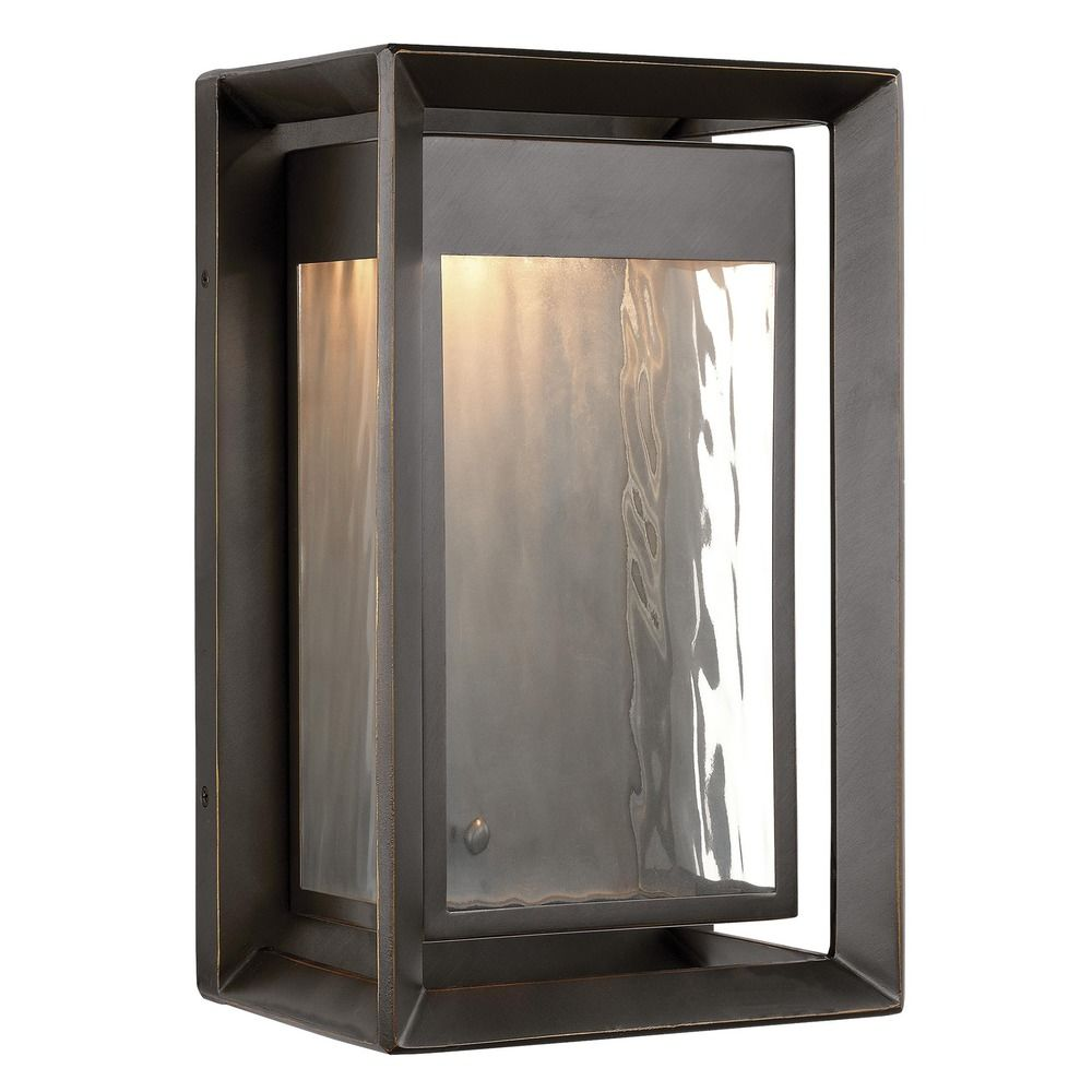 Feiss Lighting Urbandale Antique Bronze LED Outdoor Wall ...