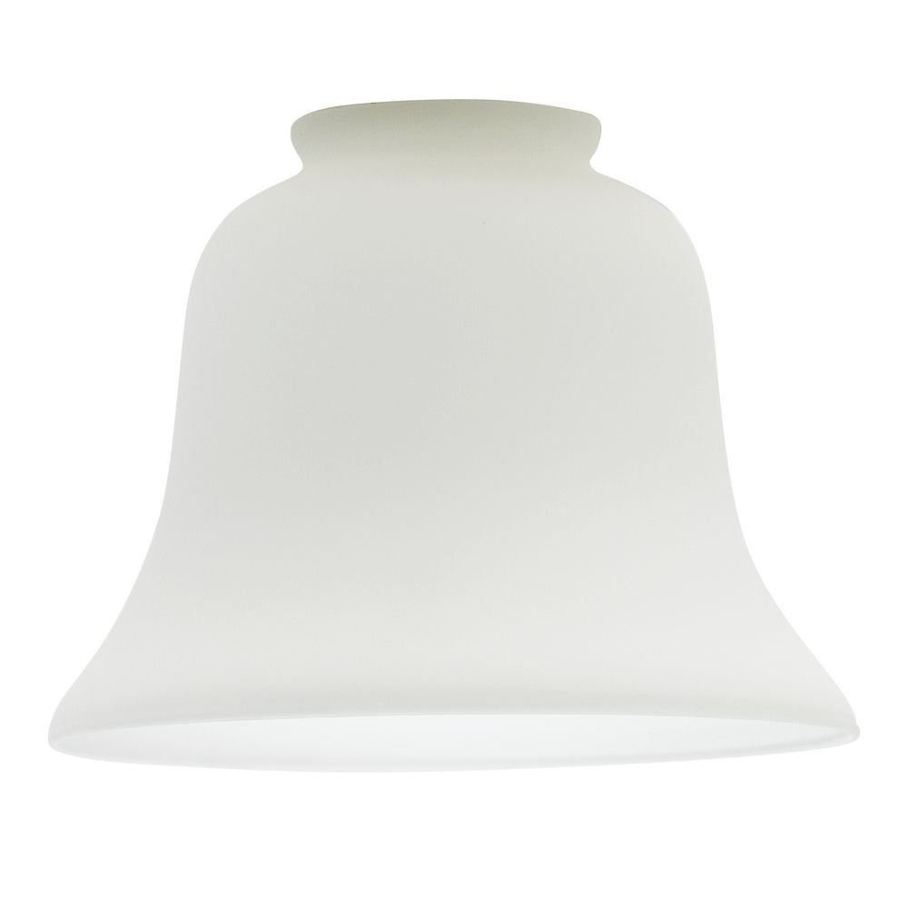 White glass lamp shade bell shaped lamp shade design classics lighting satin white bell glass shade 2 14 inch aloadofball Image collections