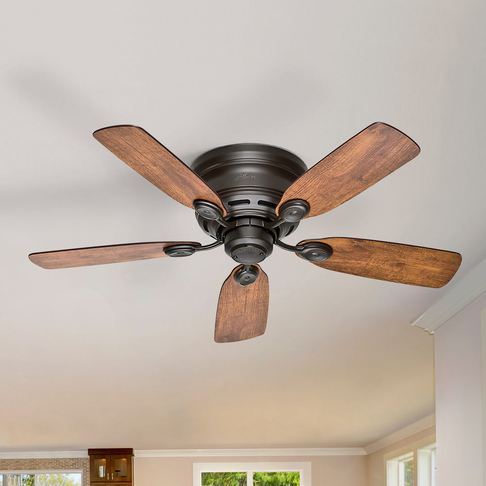 Low Profile Iv New Bronze Ceiling Fan