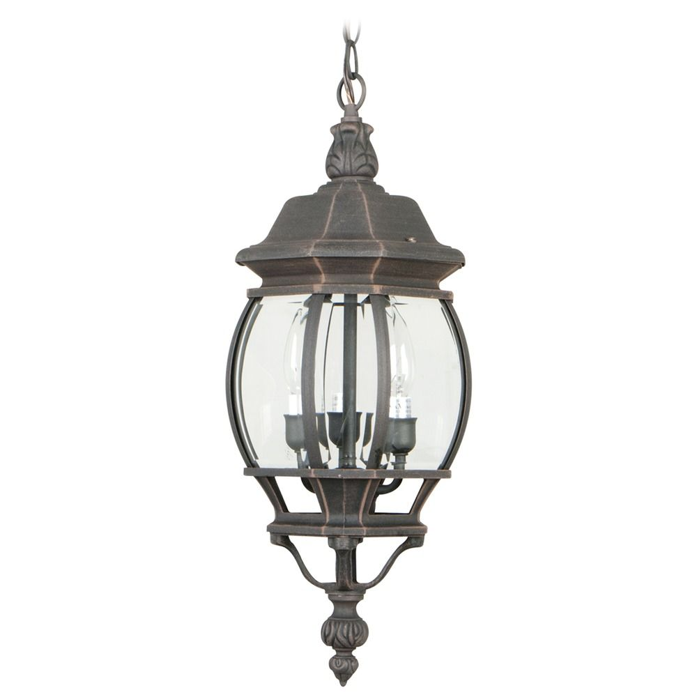 Craftmade Lighting French Style Rust Outdoor Hanging Light At Destination