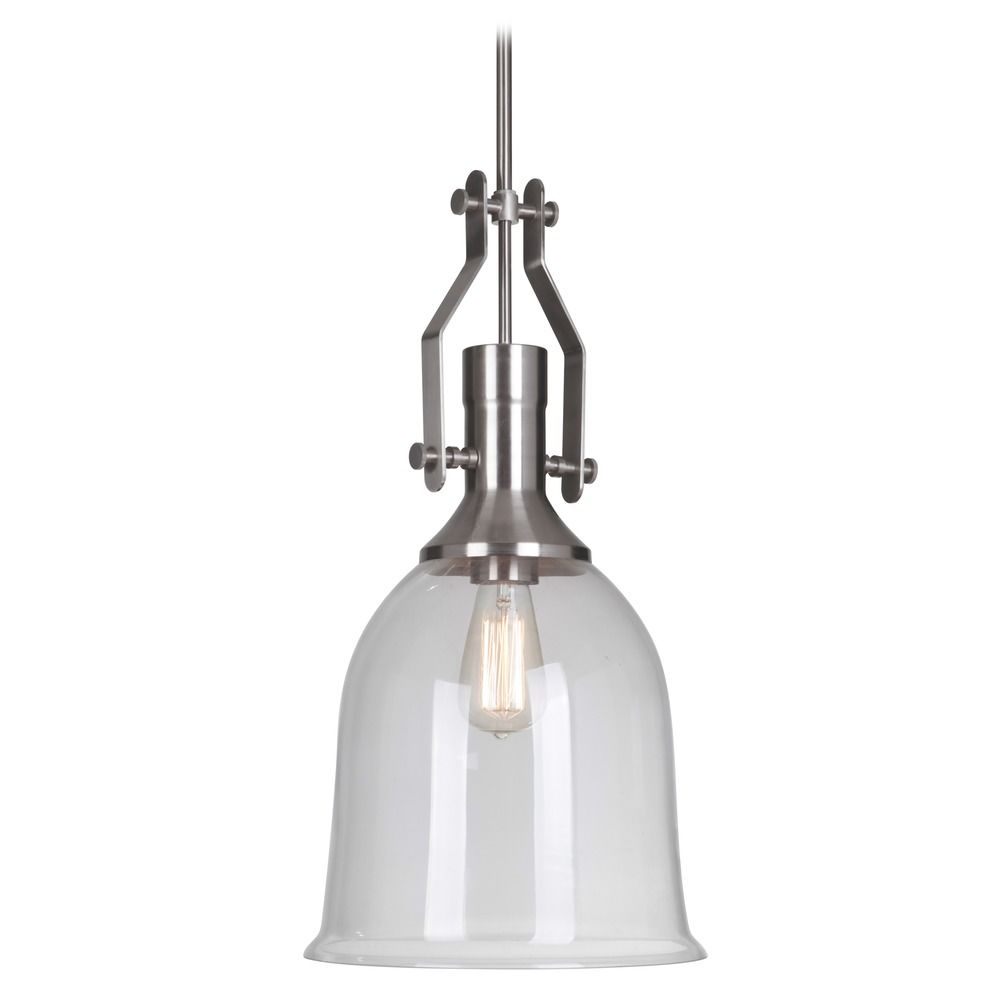 jeremiah lighting jeremiah lighting brushed nickel pendant light