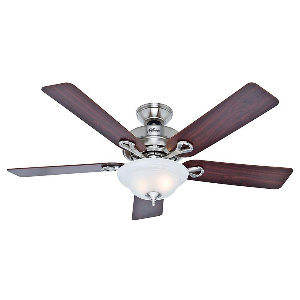 Hunter Fan Company The Kensington Brushed Nickel Ceiling
