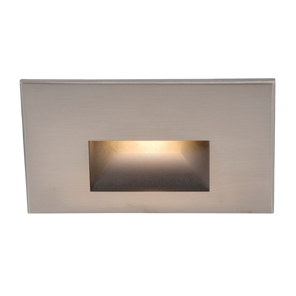 Wac Lighting Brushed Nickel Led Recessed Step Light Wl