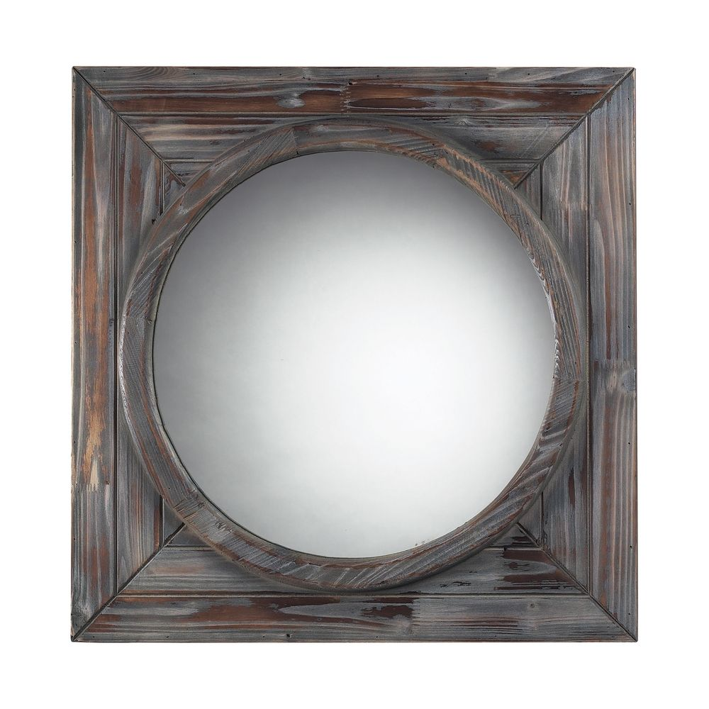 Square 24 inch mirror 116 002 destination lighting for Square mirror