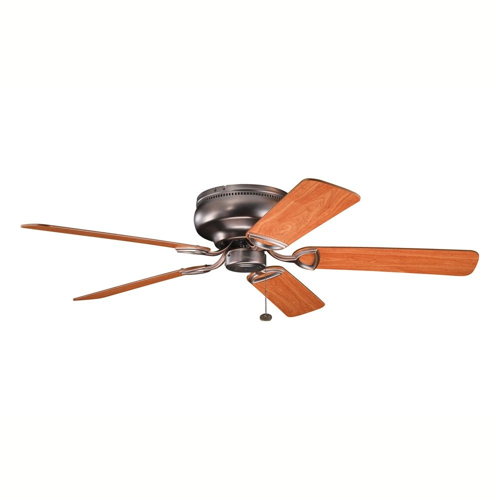 Bathroom and kitchen fan timers - Kichler Low Profile 52 Inch Ceiling Fan With Five Blades